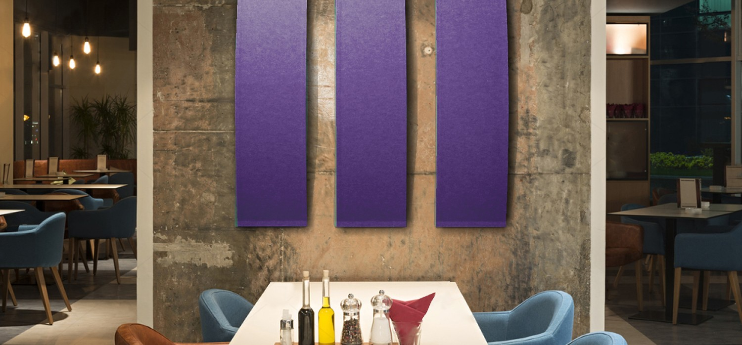 Acoustic Wall Treatment - Restaurant