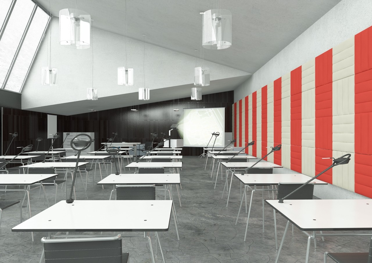 Classroom Soundproofing - ECOwall