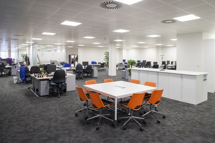 Large Open Plan Offices Encourage Communication