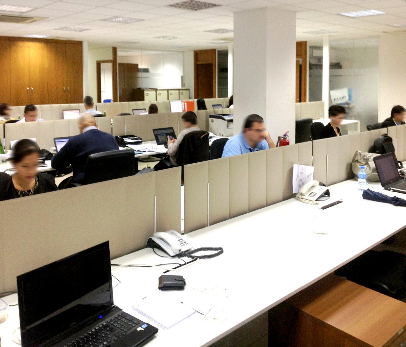 Acoustic Desk Partitions - ECOdesk
