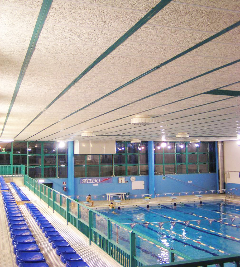 Wood Wool Panel For Swimming Pool