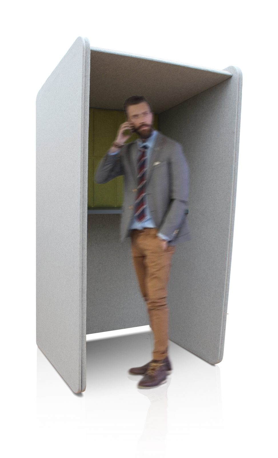 Soundproof Phone Booth