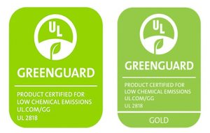 Green Guard Gold Certification