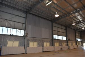 Bunker's Hill State School Multipurpose Hall Wood Wool Cement Panels - After 1