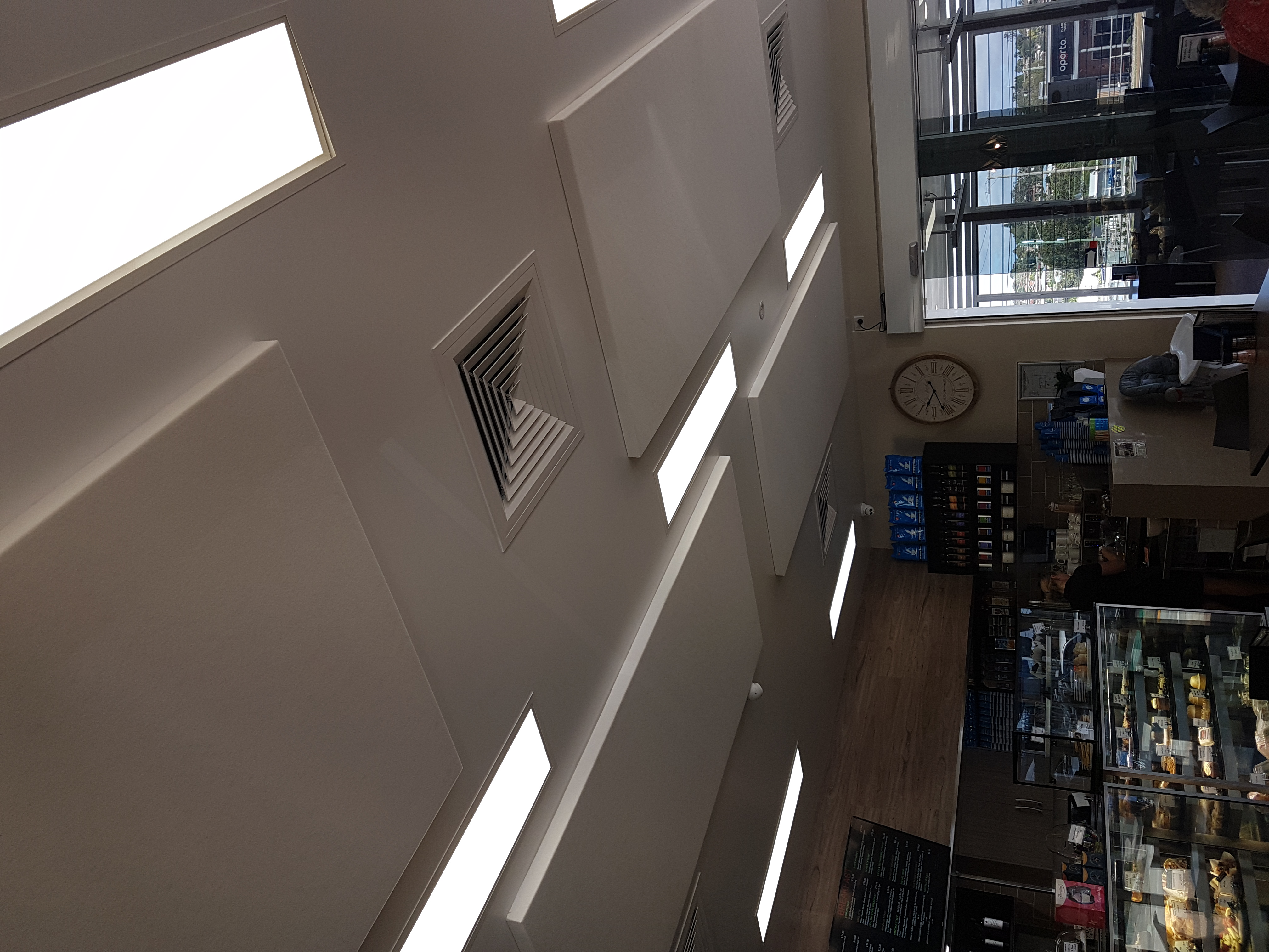 Ceiling Noise Control Treatment - Pump Coffee