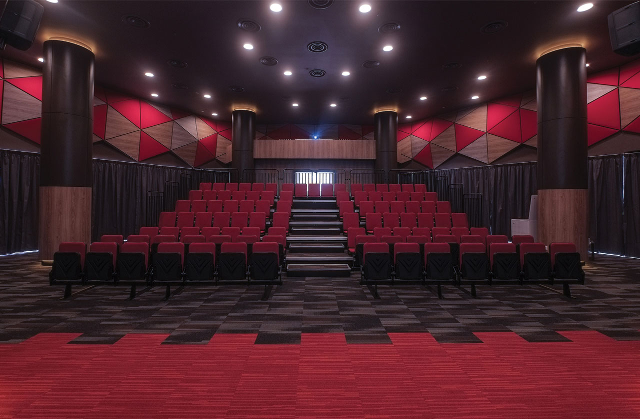 Auditorium Acoustics Completed Using Fabrix