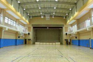 Wood Wool Panels in a multi-purpose hall