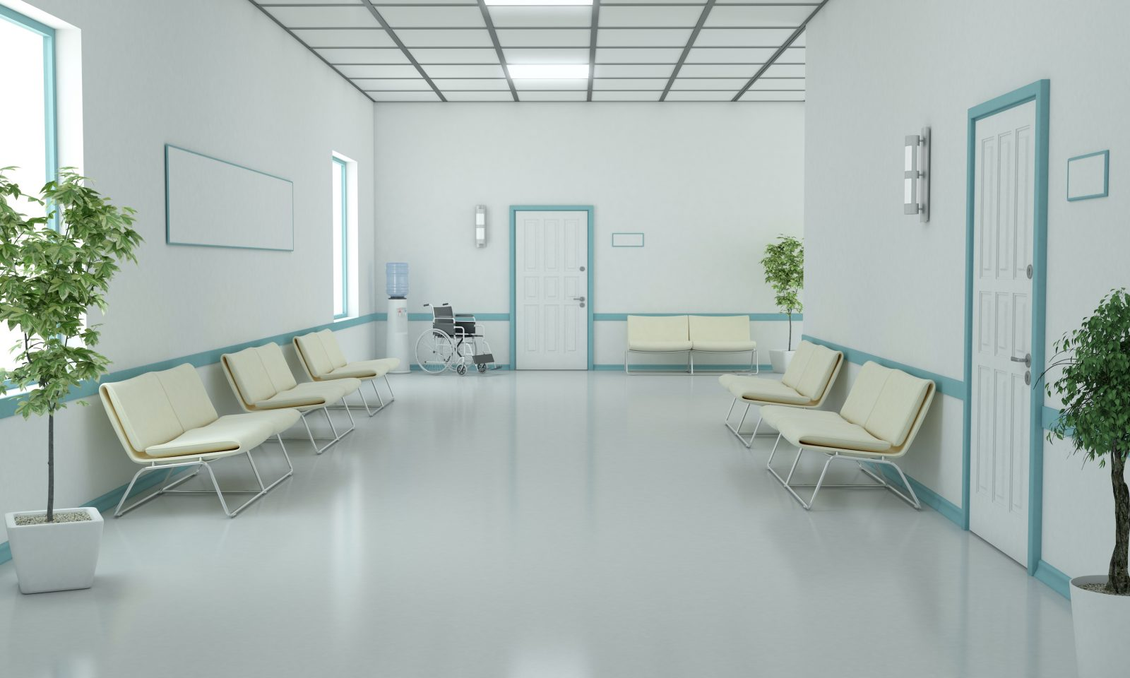 AIS Hospital waiting room
