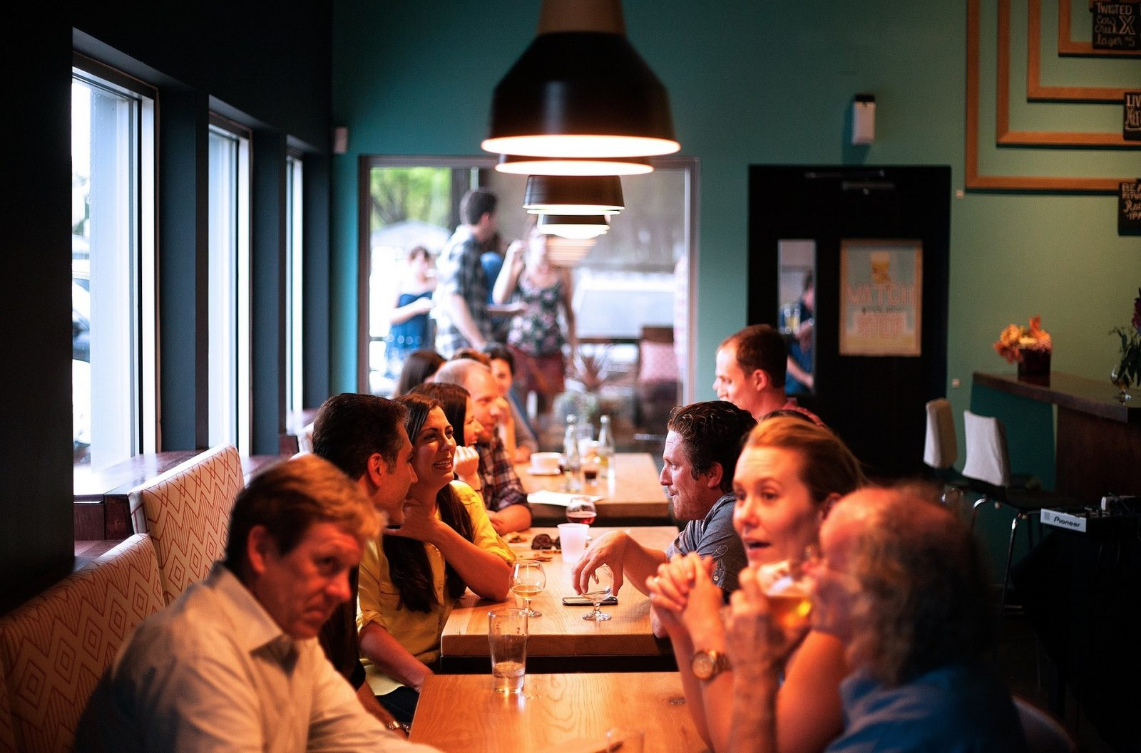 Noise can impact how we enjoy our meal