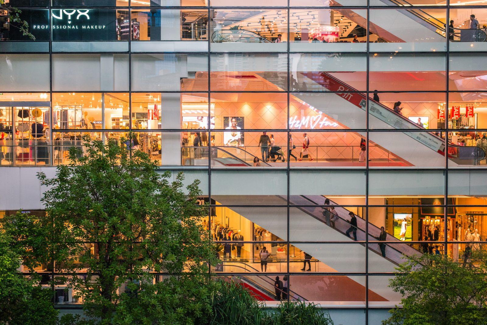 AIS Shopping centre