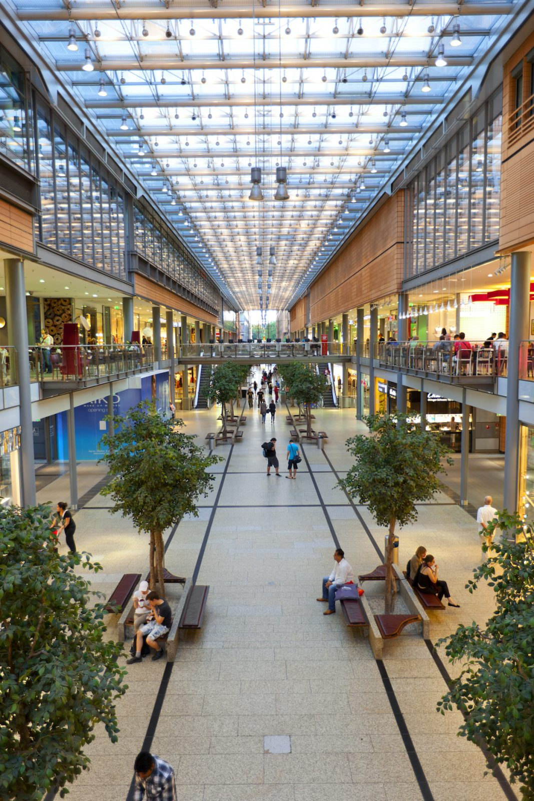 Without proper acoustic design shopping centres can be noisy