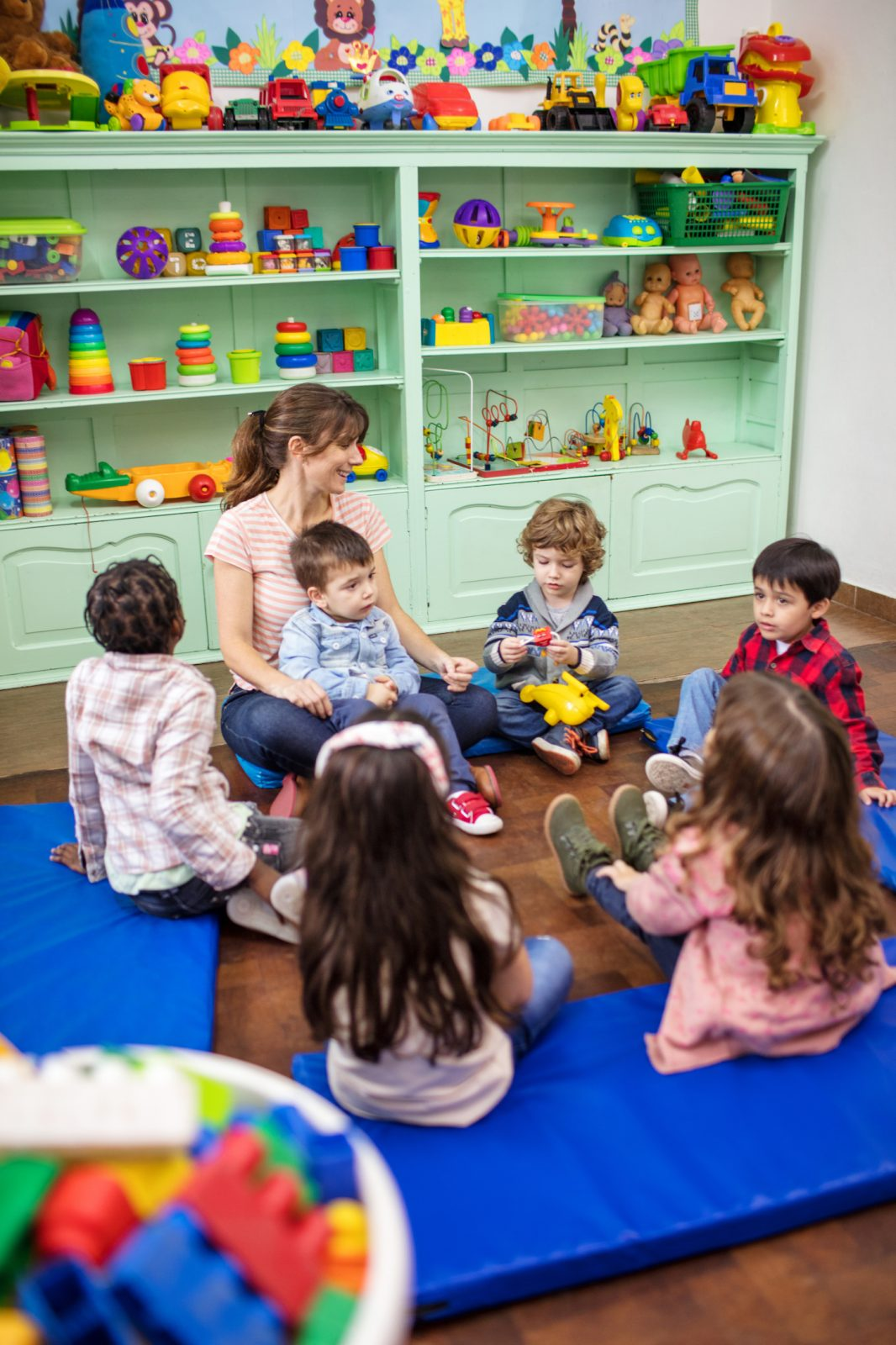 Avenue IS - Childcare Teacher Educating Students
