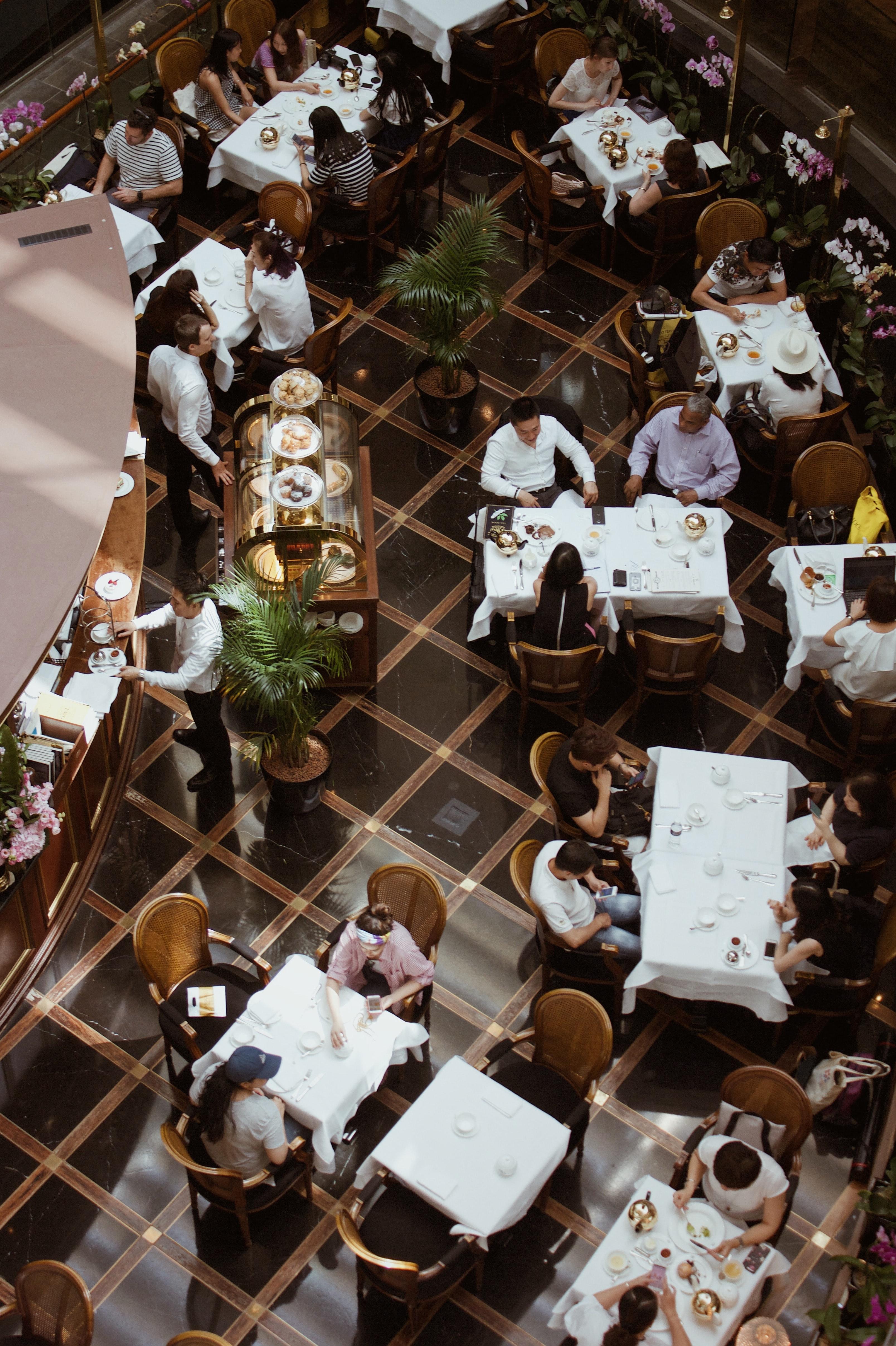 Acoustics for restaurants