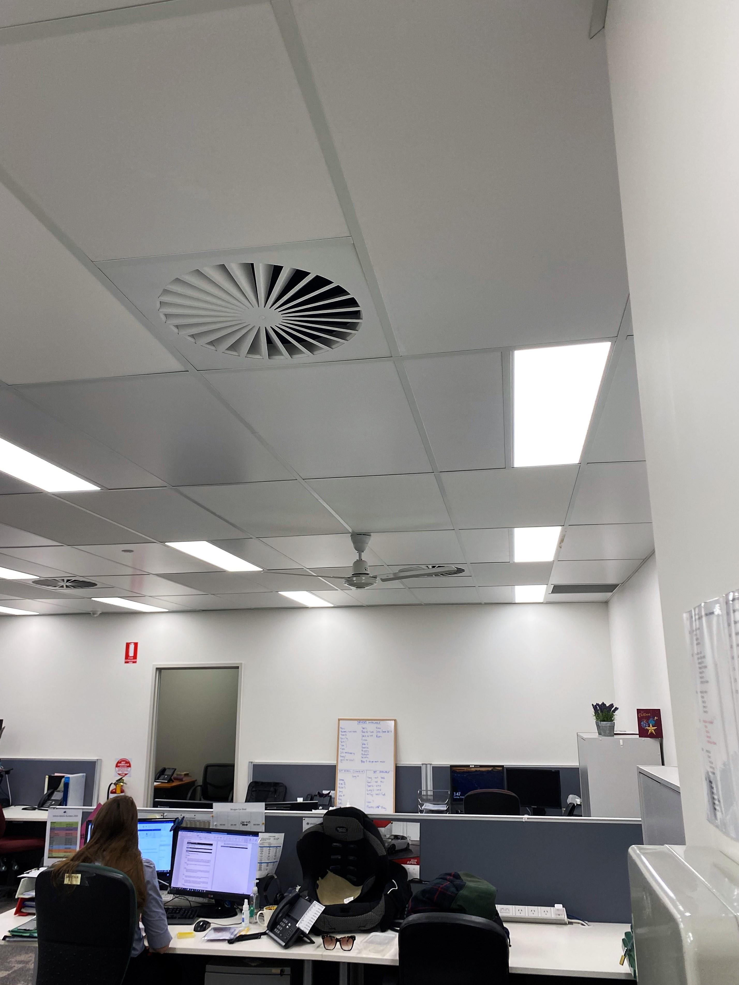 Graham House Community Centre Acoustic Ceiling Tiles