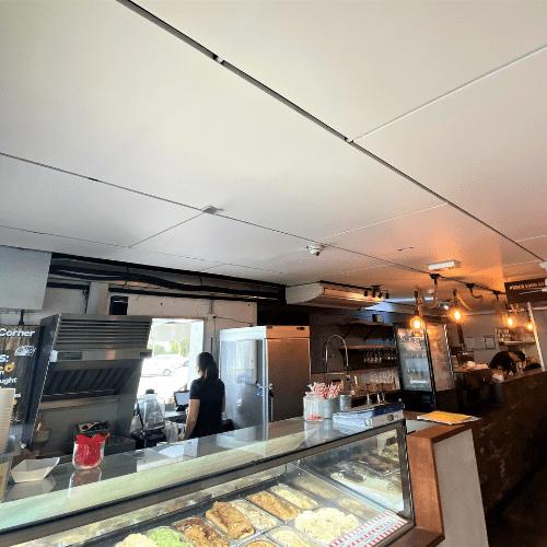 CASE STUDY – Gelaspresso Café Acoustic Treatment
